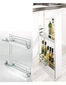 BASE CABINET PULL OUT FOR TOWEL & DETERGENTS