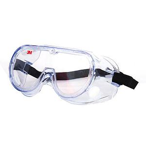 1621 Polycorbonate safety goggle for chemical splash