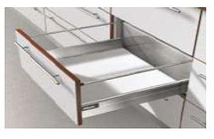 TANDEMBOX PLUS D-HEIGHT WHITE STANDARD DRAWER WITH A WEIGHT CAPACITY: 30 Kg FOR A NOMINAL LENGTH OF 350mm