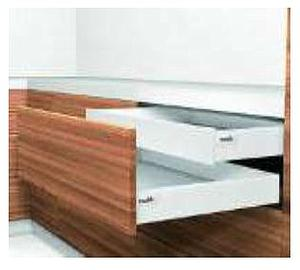 ANTARO M- HEIGHT STAINLESS STEEL 30 KG INNER DRAWER FOR A NOMINAL LENGTH OF 500 MM
