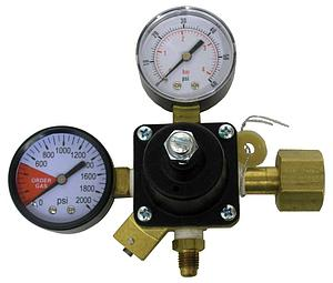 Co2 Regulator With Pressure Guage