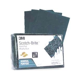 Scotch Brite Hand Pad Mighty Blue